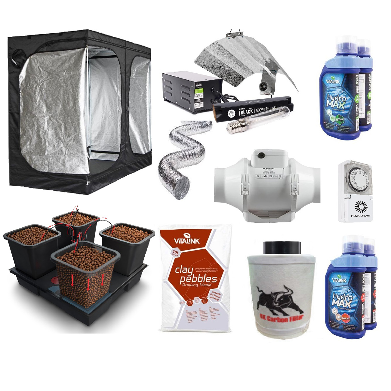 Complete Grow Tent Kits  sc 1 th 225 & Hydroponic Supplies - UKu0027s Cheapest Hydroponic Supplier - Kitbag Shop